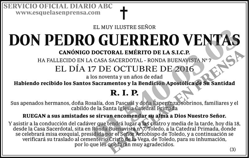 Pedro Guerrero Ventas